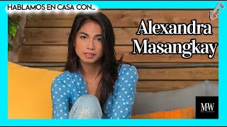 """ALEXANDRA MASANGKAY (EL HOYO): """"Me encerré en una habitación de un sótano para poder imaginar"""""""