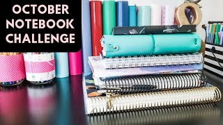October Notebook Challenge and Giveaway