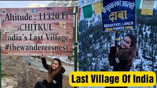 Kinnaur Ep 2 || Last Village of India || Chitkul || Last Dhaba of India || Jyotika Dilaik