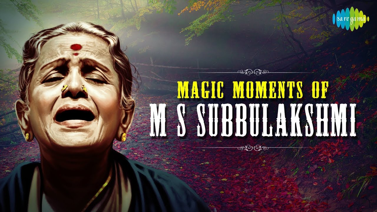 Magic moments of m. S. Subbulakshmi | carnatic | classical songs.