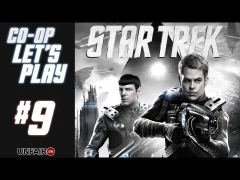 Let's Play Star Trek Co-Op #9 - Unidentified Gorn Planet 101! (HD PC Gameplay)