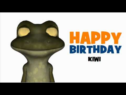 Клип Kiwi - Happy birthday