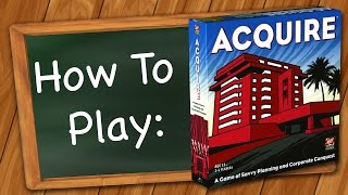 YouTube video How to Play: Acquire