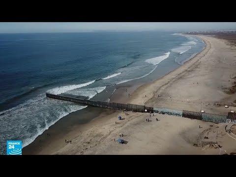 جدار بحري وقوات أمريكية لا تثني قافلة المهاجرين عن استكمال طريقها!  - نشر قبل 18 ساعة