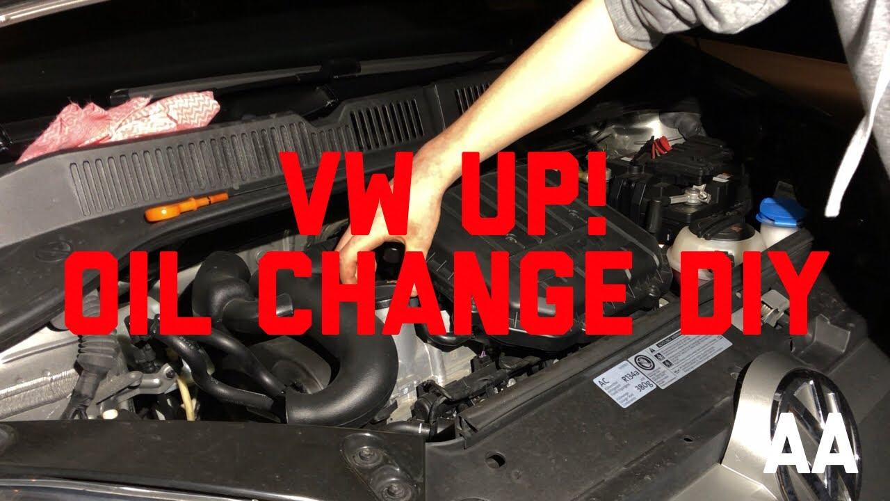 Vw Volkswagen Up Oil Change How To Diy Seat Mii Skoda Citigo Polo