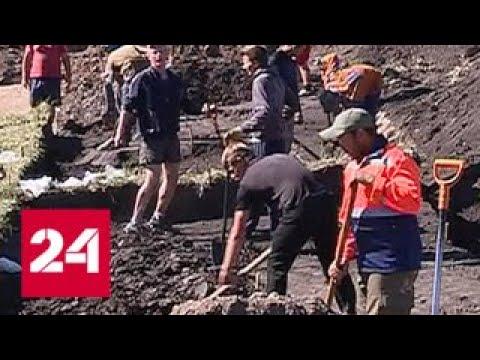 В Курской области возле рудника раскопали уникальное древнее поселение - Россия 24