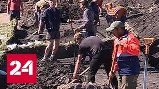 В Курской области возле рудника раскопали уникальное древнее поселение   Россия 24
