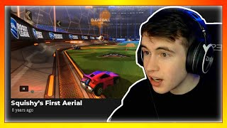 Reacting to the OLDEST Rocket League videos on the internet