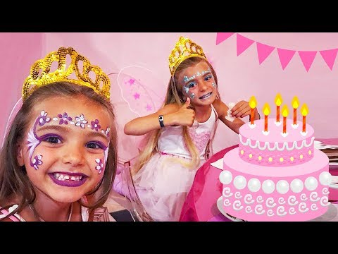 Las Ratitas son princesas en el cumplea帽os de Claudia!!