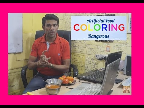 Side Effects of Artificial food coloring for Health | Hindi