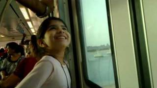 Dubai Palm Island monorail ride