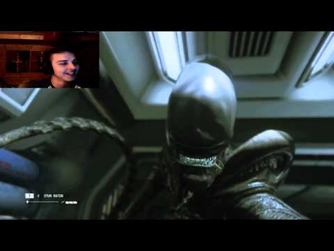Alien Isolation Part 11 Lets Play! Getting Molested By Aliens..AGAIN!