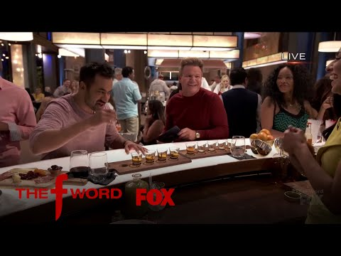 Kal Penn Wins At A Drinking Game With Gordon Ramsay  Season 1 Ep. 3  THE F WORD