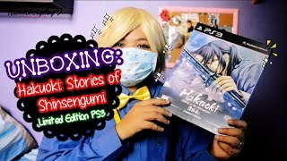 UNBOXING: HAKUOKI STORIES OF SHINSENGUMI LIMITED EDITION + Other Games | Ranneveryday