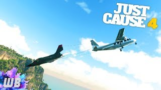 REVERSIBLE PLANE CONCEPT in Just Cause 4