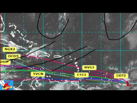 Invest area 95L 16/07/17 PM Edition Cayman Hurricane Center