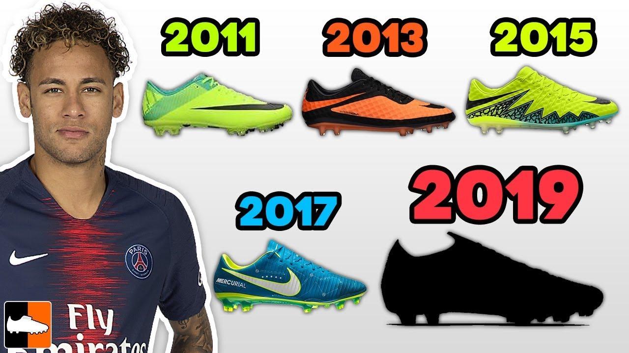 What Boots Does Neymar Jr Wear?! - YouTube