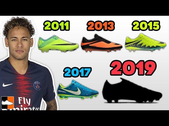Neymar currently wears the Nike Mercurial range 9f7a29e31db