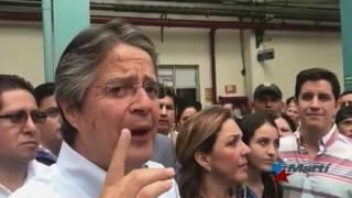 Candidato a presidencia de Ecuador promete eliminar convenios médicos con Cuba