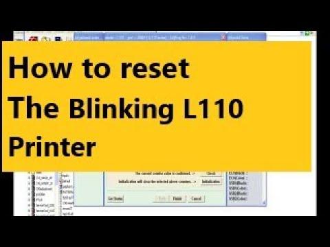 epson l110 printer reset key free download