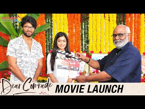 Dear Comrade Movie Launch | Vijay Deverakonda | Rashmika Mandanna