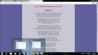 How to put song lyrics on ipod touch (TUTORIAL)