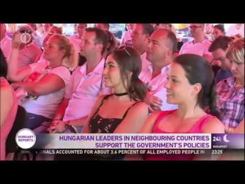 Hungarian Leaders In Neighboring Countries Support The Government's Policies
