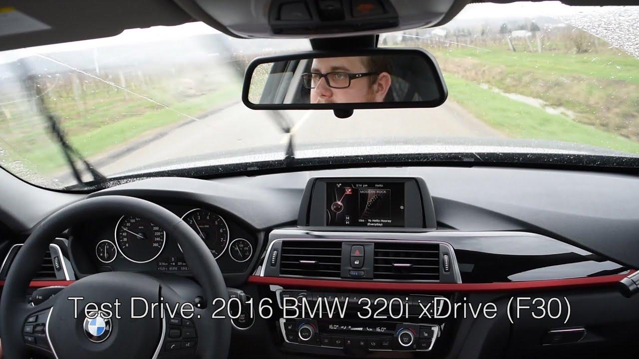 Test Drive 2016 BMW 320i xDrive F30