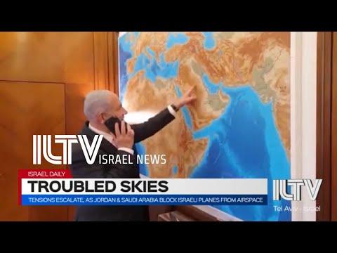 Tensions Escalate, As Jordan \u0026 Saudi Arabia Block Israeli Planes From Airspace