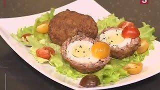 Яйца по-шотландски. Быстро и вкусно! Утро на 5