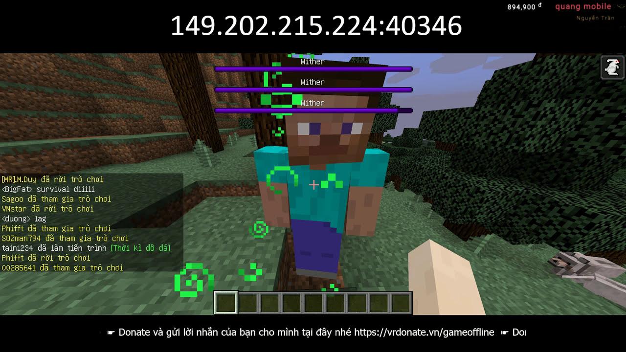 Minecraft #4 – Xây Siêu Nhà Lầu Trên Cây Chống Zombie =))