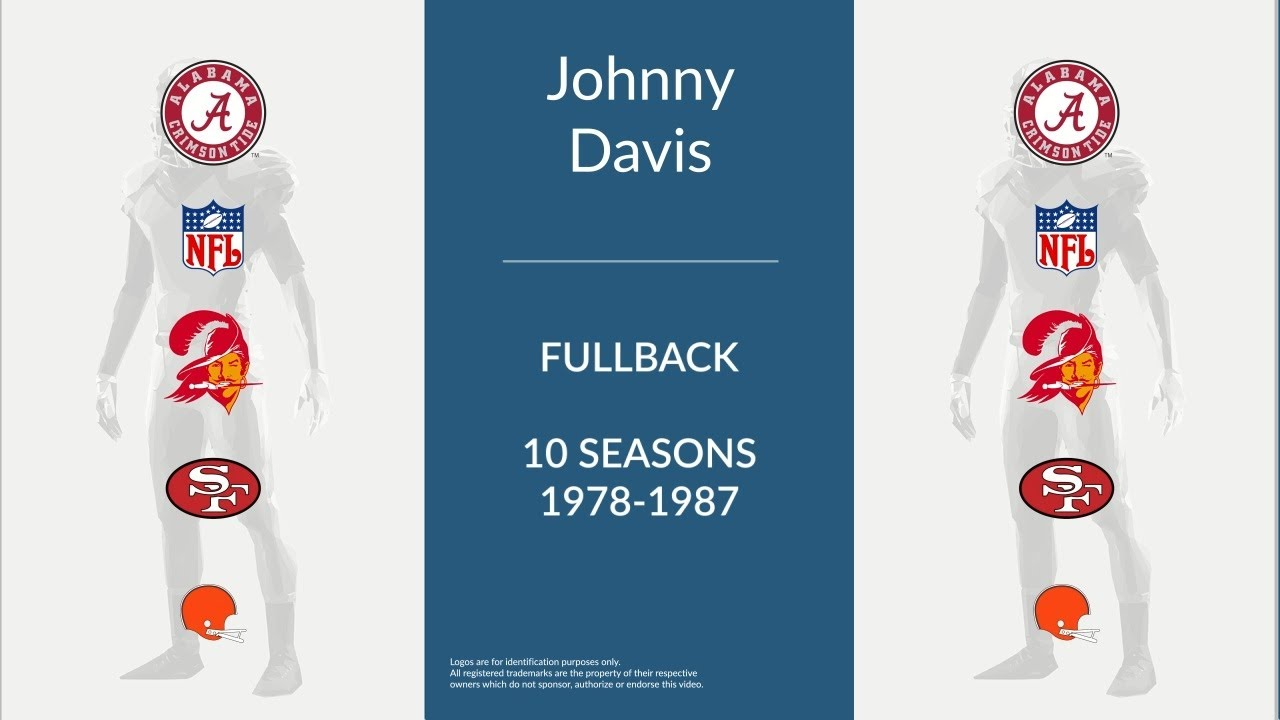 Johnny Davis Football Fullback