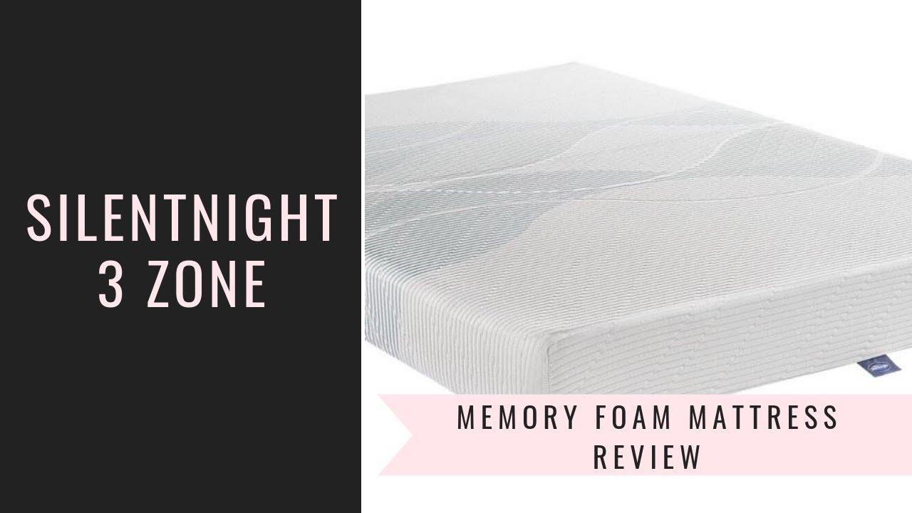 Silentnight 3 Zone Memory Foam Rolled