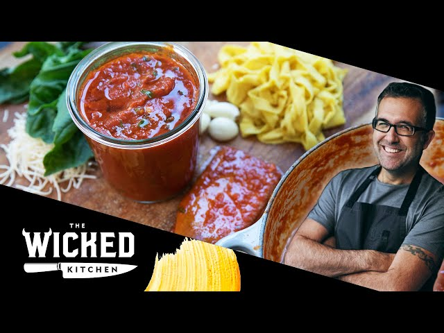 Nana's Red Sauce | The Wicked Kitchen