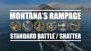 World Of Warships - Montana's Rampage (EU Server Damage Record Dec.6.2016)