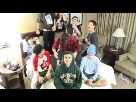 NASH'S FIRST VIDEO   Nash Grier with JC Caylen  Cameron Dallas   More