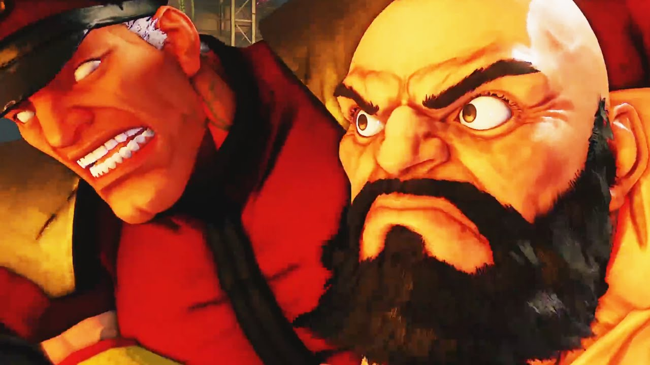 Street Fighter 5 Zangief Gameplay Critical Art Trailer Youtube