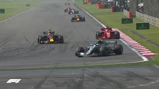 Daniel Ricciardo's Amazing Overtakes!   2018 Chinese Grand Prix