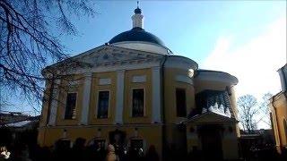Покровский монастырь 28 февраля 2016. Святая Матрона(Мир Вам, дорогие пользователи видеоканала сайта