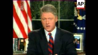 USA - Clinton's Haiti Speech To The Nation