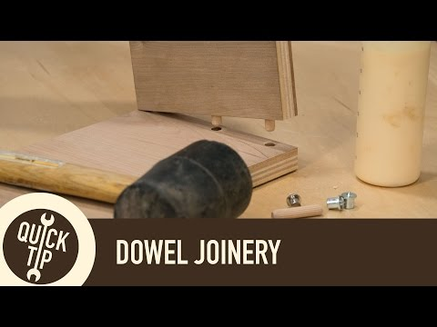 Dowel Joinery Technique and Tips | Woodworking