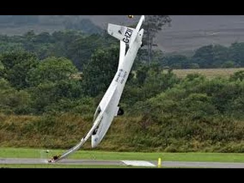 Flying a glider emergency landing ran out of lift, all hell