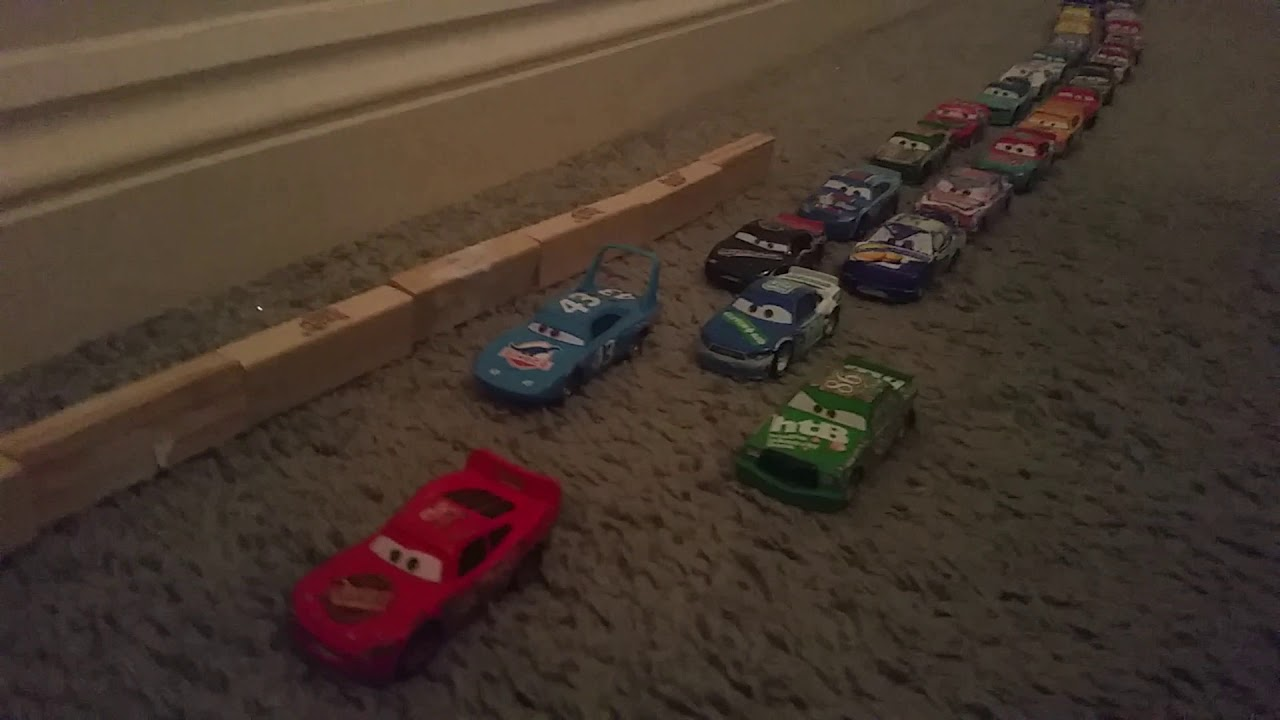 Cars 2006 Motor Speedway Of The South Dinoco 400 Piston Cup Youtube