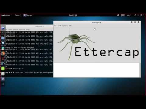 Arp Spoofing, DHCP Spoofing, ICMP Redirect and more
