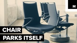 Self-parking office chair