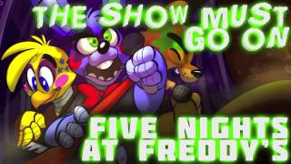 'The Show Must Go on'  Five Nights at Freddy's ROCK SONG Female Cover