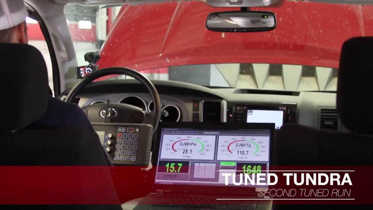 Toyota Tundra: Tuned! - YouTube