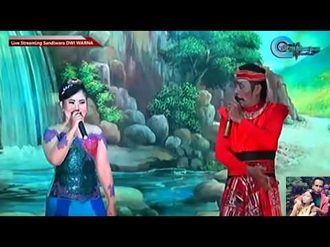 SIMBAR MATA   VOC. ELLA PESEK & KOSIM   LAGU SANDIWARA DWI WARNA   LIVE CIKEDUNG LOR   30 APRIL 2017