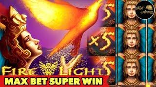 ⭐️FIRE LIGHT SUPER BIG WIN⭐️MAX BET WIN JACKPOT CATCHER BONUS SLOT MACHINE