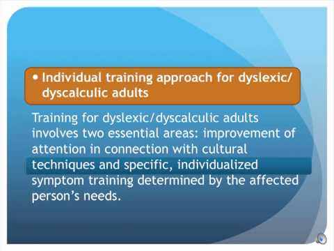 Can, too Dyscalculia in adults
